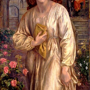 "Dante Gabriel Rossetti ""Salutation of Beatrice"" by ALD1"