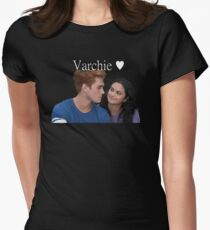 Varchie Riverdale Netflix Veronica Archie Women's Fitted T-Shirt