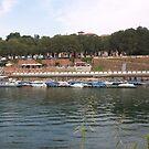 Ticino River - Pavia, Italy by Mary Sedici