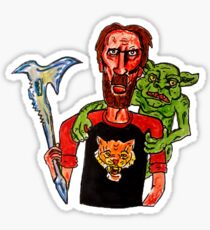 Red Miller & Cheddar Goblin Sticker