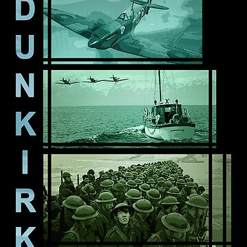 One hour, one day, one week (Dunkirk) by VanHand