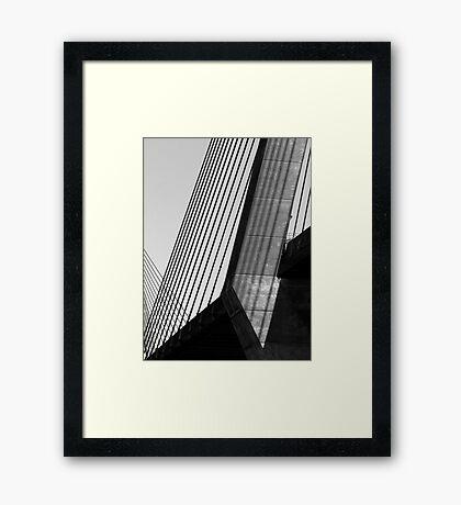 Anzac Bridge #4 Framed Print