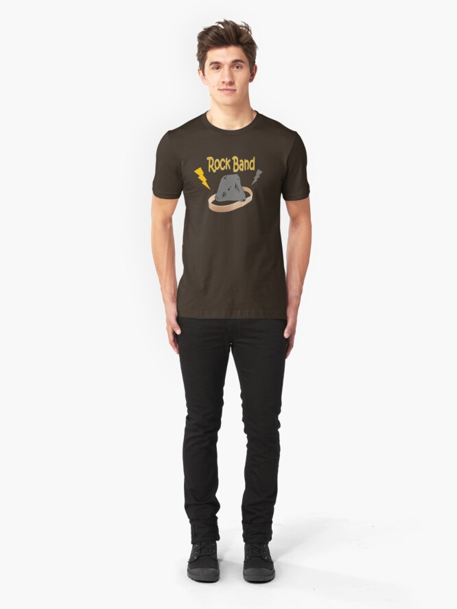 Alternate view of Rock Band Slim Fit T-Shirt