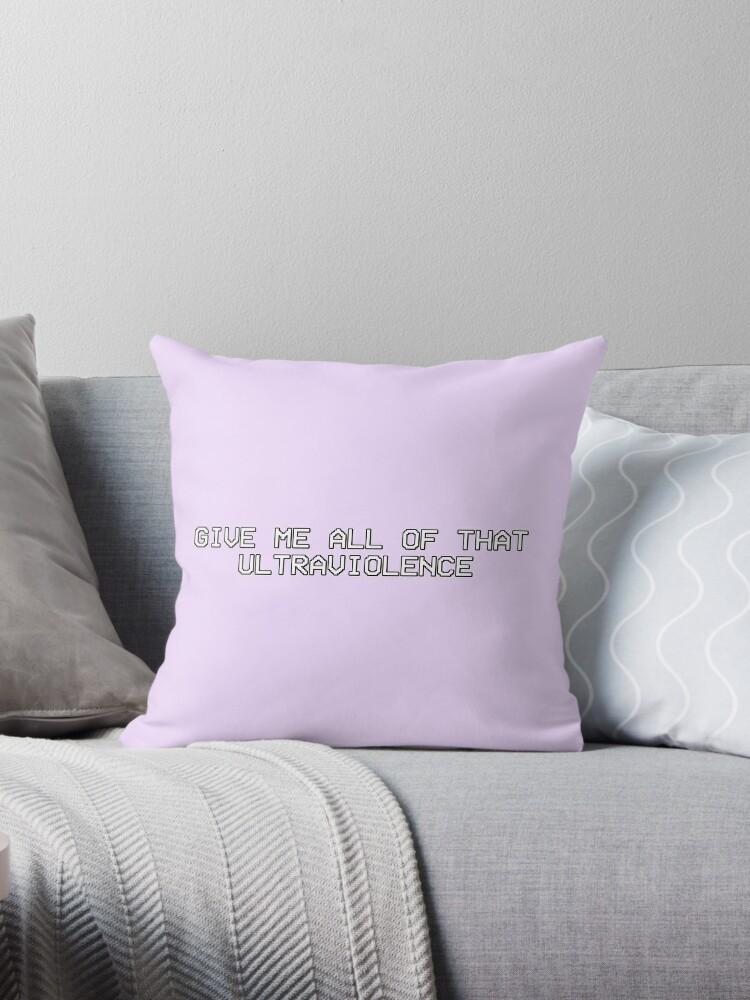 «Dame toda esa ultraviolencia.» de princessbedelia