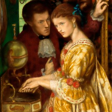 "Dante Gabriel Rossetti ""Washing hands"" by ALD1"