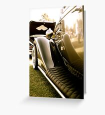 Curved Reflections. Greeting Card