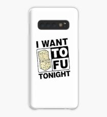 Funda/vinilo para Samsung Galaxy Vegetarier Vegan - I want TOFU Tonight