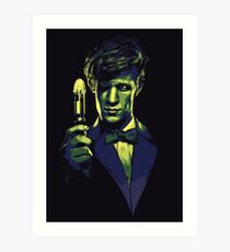 Who? The Doctor Himself! Art Print
