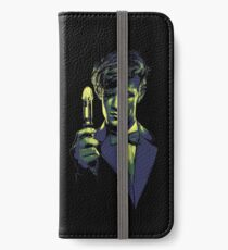 Who? The Doctor Himself! iPhone Wallet/Case/Skin