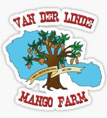 Van Der Linde Mango Farm Sticker