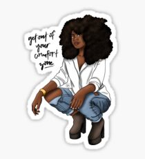 Get Out of Your Comfort Zone Sticker