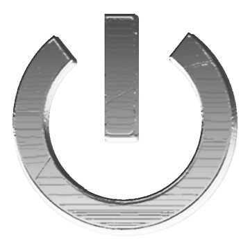 Power Button by robinherrick