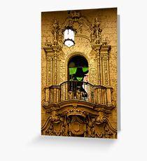 Luxurious Lobby Greeting Card