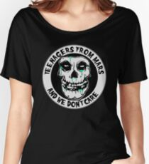 We don't care  Women's Relaxed Fit T-Shirt