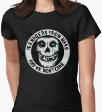 We don't care  Women's Fitted T-Shirt
