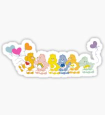 Roller Skating Care Bears - Grumpy Bear Alternate  Sticker