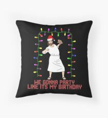 Party likes it's my birthday  Throw Pillow