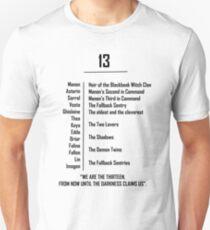 Throne of Glass The Thirteen Unisex T-Shirt