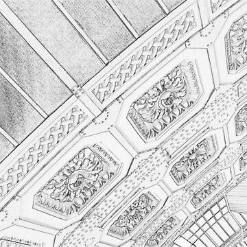 Musée d'Orsay Ceiling, Paris France by jherbert101