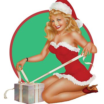 Mrs. Claus Pinup by sonicdude242