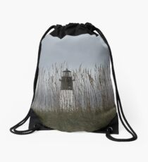 Georgia Lighthouse Drawstring Bag