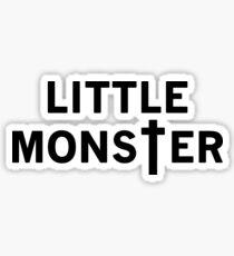 Little Monster - Black Font Sticker