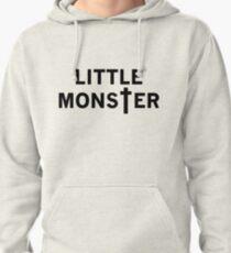 Little Monster - Black Font Pullover Hoodie