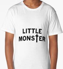 Little Monster - Black Font Long T-Shirt