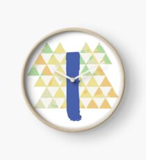 Blue Slide Park Clock