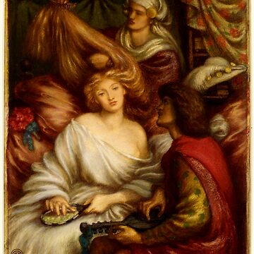 "Dante Gabriel Rossetti ""Morning Music"" by ALD1"