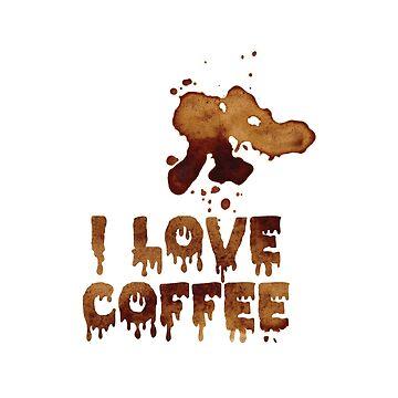 ich liebe Kaffee von Upbeat