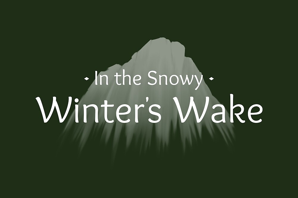 Winter's Wake Postcard 3 by Josh Bush