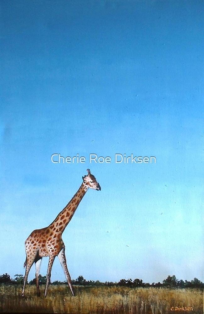 Giraffe on the Horizon... by Cherie Roe Dirksen