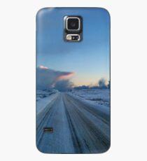 Dramatischer Dawn Drive Hülle & Klebefolie für Samsung Galaxy