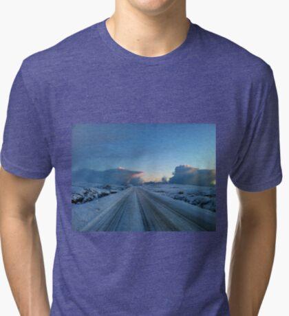 Dramatischer Dawn Drive Vintage T-Shirt