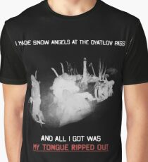 Dyatlov Pass Souvenir Graphic T-Shirt