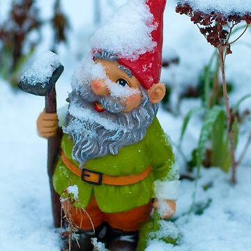 Snowy Gnome's Batman by DonDavisUK