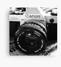 Canon AE-1 Canvas Print