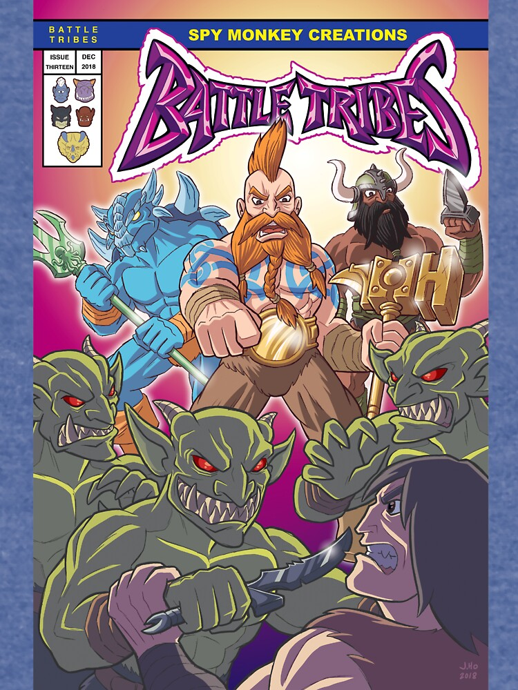 Battle Tribes - The New Tribes! by spymonkey
