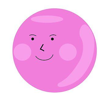 Cartoon Characters Circle Kawai by Homyar