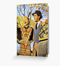 Paleface Paradise No.9 Greeting Card