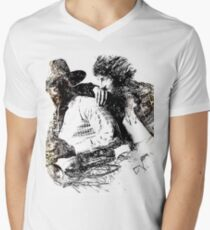 Bruce and Clarence Drawing 1 WallsOfFameAust V-Neck T-Shirt