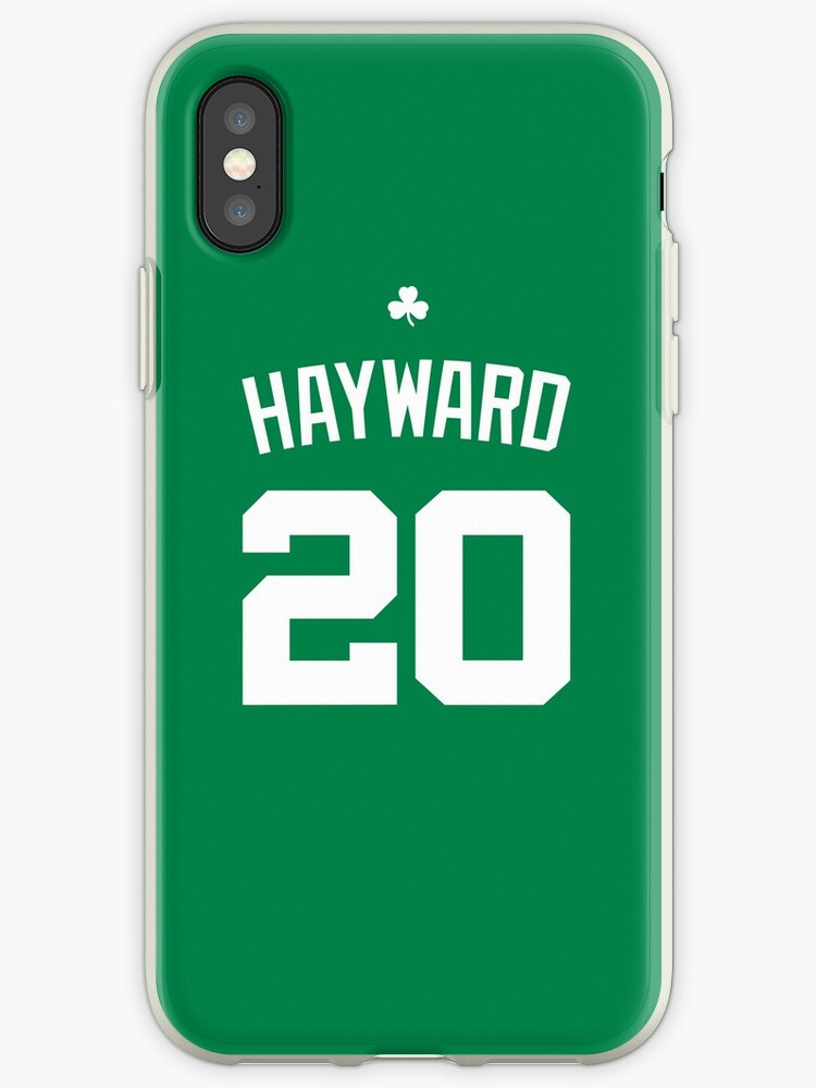 huge selection of 56c39 8a1ea 'Gordon Hayward Jersey Bag' iPhone Case by csmall96