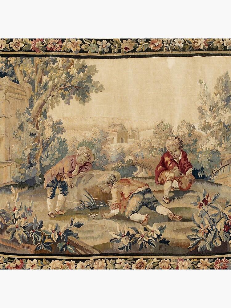 Aubusson  Antique French Tapestry by bragova