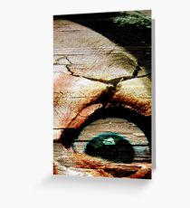 Feels Like I Gotta Lil' Sumthin' In My Eye! Greeting Card