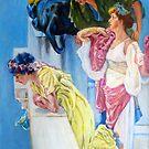 studieren nach Alma Tadema von Hidemi Tada