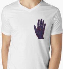 Hand Fortune Lines | Palm Reading Men's V-Neck T-Shirt