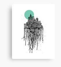 City Drips #2 Canvas Print