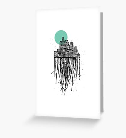 City Drips #2 Greeting Card