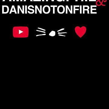 Amazingphil & Danisnotonfire 02 by downeymore